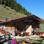 Kranzhorn Schutzhütte auf 1230m