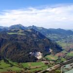 Kranzhorn Blick Richtung Nordwesten und Wendelstein
